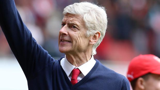 Arsenal manager Arsene Wenger is pleased with finishing above Tottenham but not about finishing second