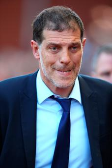 Hammer blow: Slaven Bilic was angry they didn't seal Euro qualification