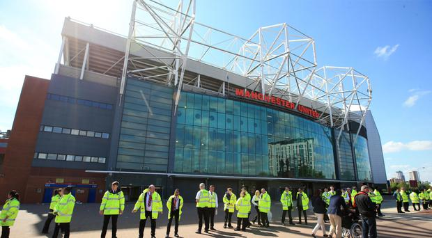 Manchester United's clash with Bournemouth was called off after a bomb scare