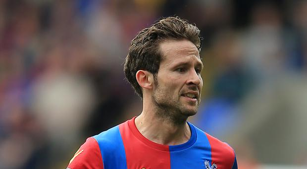 Crystal Palace's Yohan Cabaye was among those absent against Southampton but who will be vital to their hopes against Manchester United