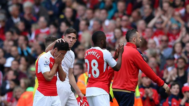 Mikel Arteta was overcome with emotion at the final whistle of Arsenal's win over Aston Villa.