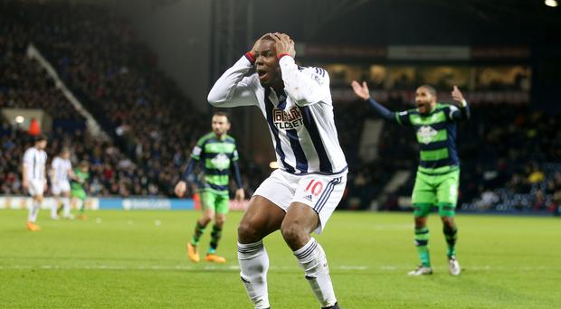 Victor Anichebe is set to leave West Brom