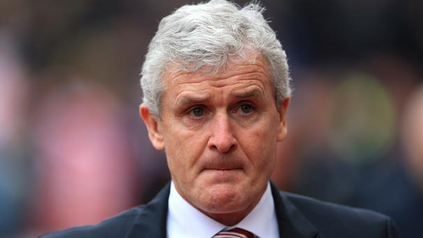 Mark Hughes' men were shown last on nine occasions
