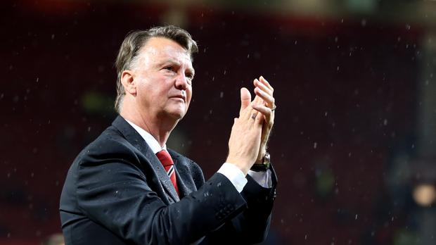 Manchester United manager Louis van Gaal is confident of keeping his job