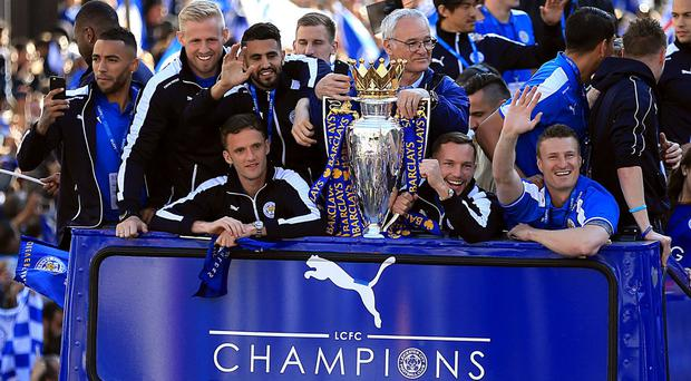 Leicester are continuing their title celebrations in Thailand