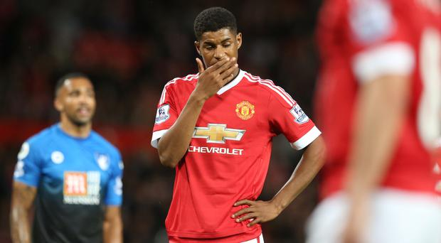 Manchester United's Marcus Rashford still has work to do
