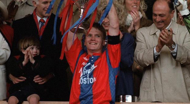 Geoff Thomas while at Crystal Palace