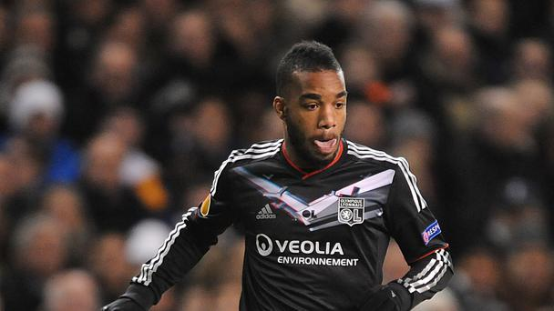 Alexandre Lacazette is a target of West Ham