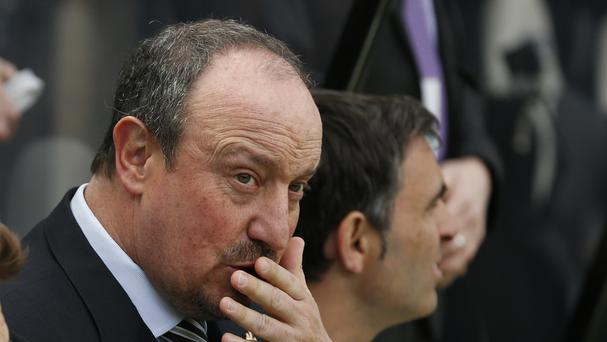 Rafael Benitez remains in talks with Newcastle over his future