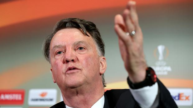 Louis van Gaal clearly relished the expectation that coaching England's most successful club brought