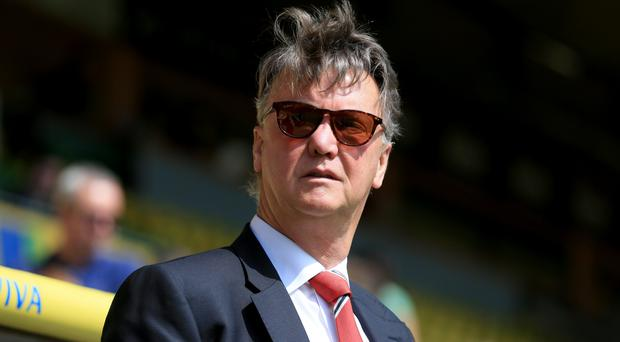 Louis van Gaal has had some memorable moments as Manchester United manager
