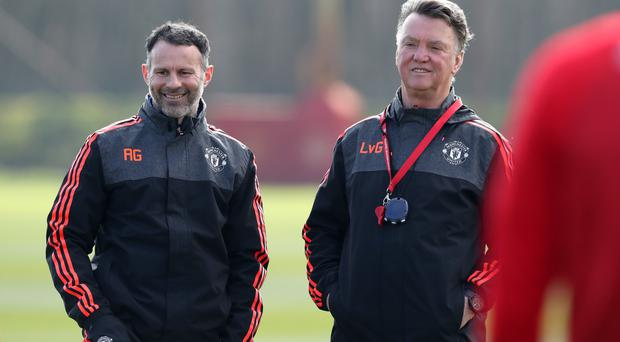 Ryan Giggs worked as Louis van Gaal's assistant at Manchester United.