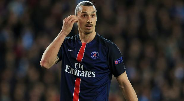Zlatan Ibrahimovic may be on the move to Manchester United