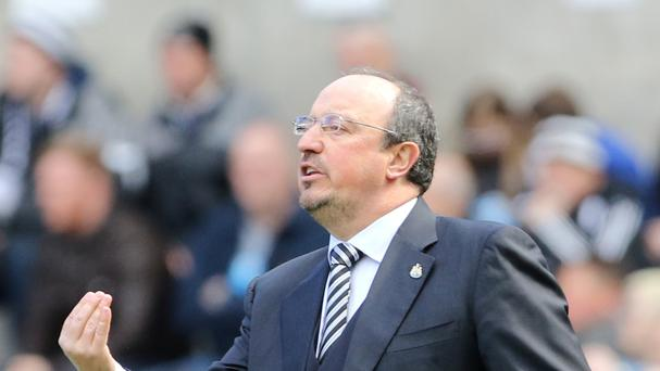 Rafael Benitez looks set to stay at Newcastle.