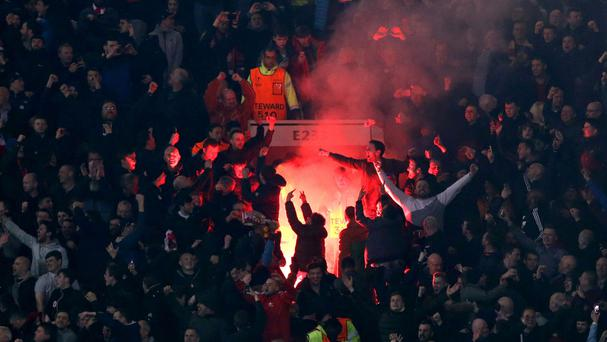 Liverpool have been fined by UEFA for their fans setting off fireworks.