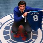 Joey Barton chose to leave Premier League-bound Burnley for Rangers.