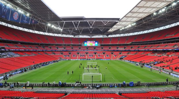 Tottenham will play their European games at Wembley next season