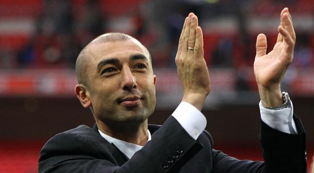 Roberto Di Matteo is expected to be officially named as manager on Friday