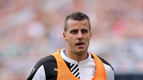 Steven Taylor spent 13 years at Newcastle
