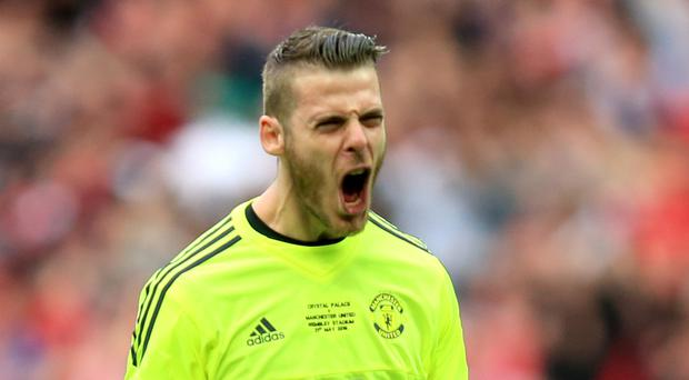 Manchester United goalkeeper David De Gea has indicated his willingness to stay at the club