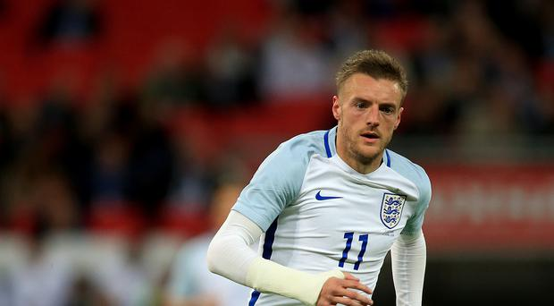 England's Jamie Vardy is reportedly wanted by Arsenal