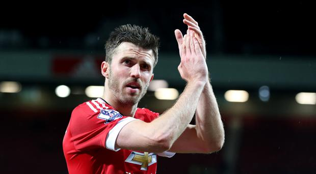 Michael Carrick has been with Manchester United for 10 years.