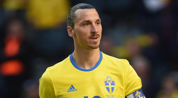 Zlatan Ibrahimovic was giving little away