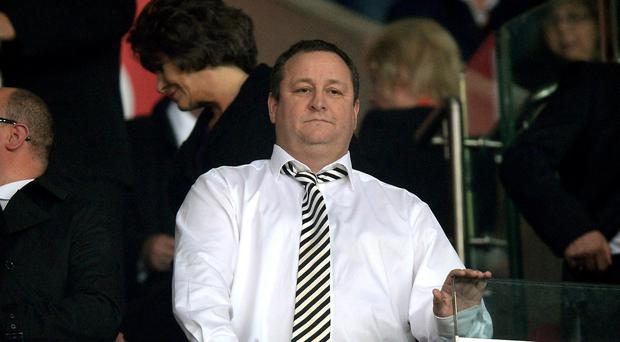 Sports Direct chief Mike Ashley
