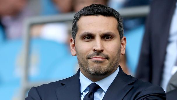 Khaldoon Al Mubarak, pictured, says Sheikh Mansour remains deeply committed to Manchester City