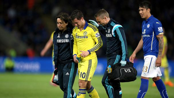 Former Chelsea club doctor Eva Carneiro (left) was criticised by then manager Jose Mourinho for running onto the pitch to treat midfielder Eden Hazard