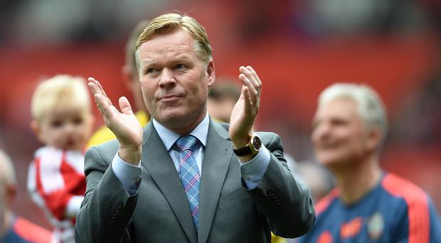 Ronald Koeman has become Everton's new manager