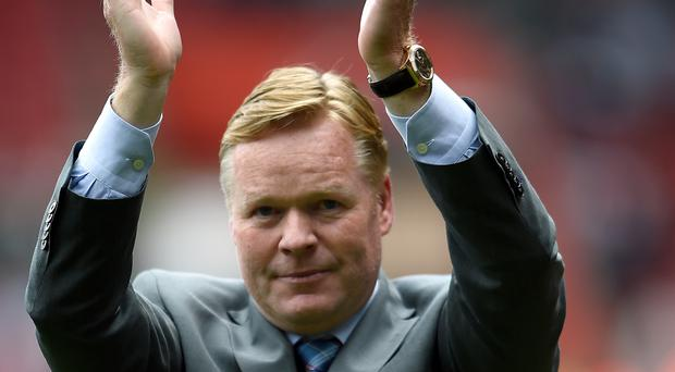 Ronald Koeman is Everton's new manager.
