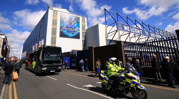 Everton have submitted plans to spruce up Goodison Park this summer.
