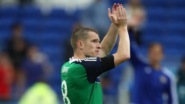 Steven Davis, at Euro 2016 with Northern Ireland, has committed to Southampton