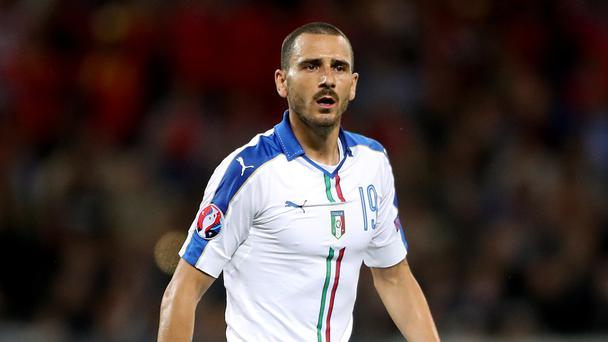 Leonardo Bonucci could be heading to the Premier League