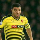 Striker Troy Deeney scored 15 goals for Watford last season.