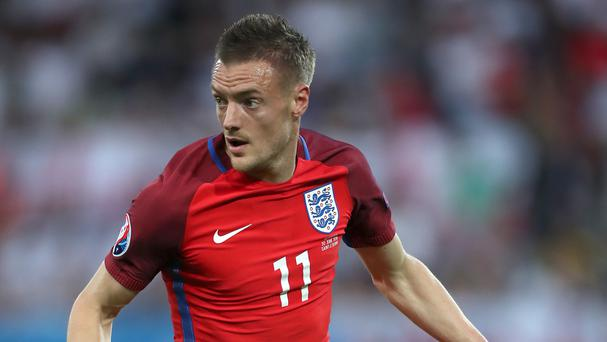 Leicester striker Jamie Vardy is currently with England at Euro 2016