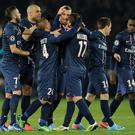 Zlatan Ibrahimovic, centre, in 2012 became the first player to score for six different clubs in the Champions League
