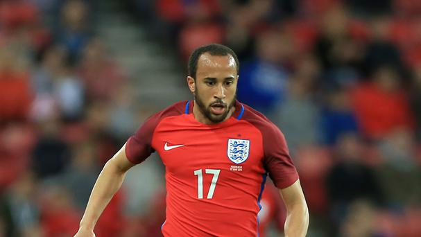 England winger Andros Townsend has joined Crystal Palace.