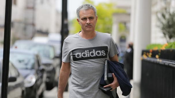 Jose Mourinho officially begins work as Manchester United manager on Monday