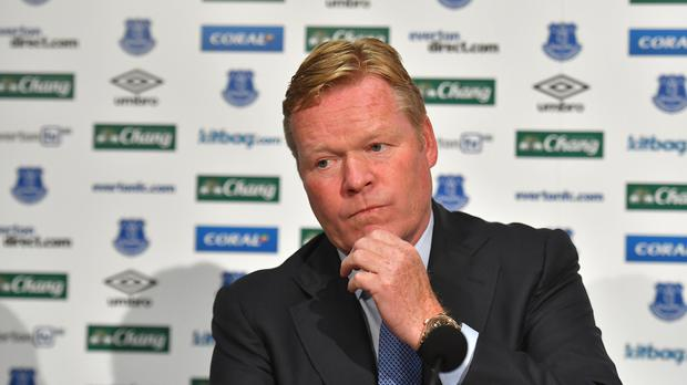 New Everton manager Ronald Koeman brought forward the scheduled start of pre-season.