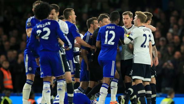 Chelsea and Tottenham have had their fines reduced following their fractious London derby in May