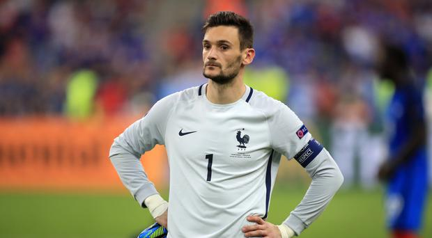 France goalkeeper Hugo Lloris was one of 11 Tottenham players to feature at Euro 2016
