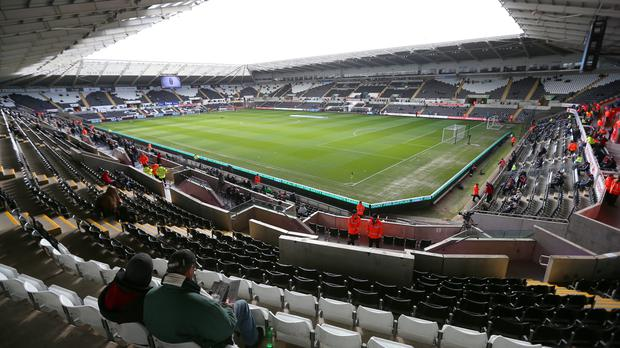 Swansea City's Liberty Stadium