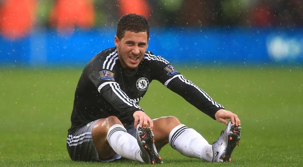 Chelsea forward Eden Hazard suffered a dip in form last season