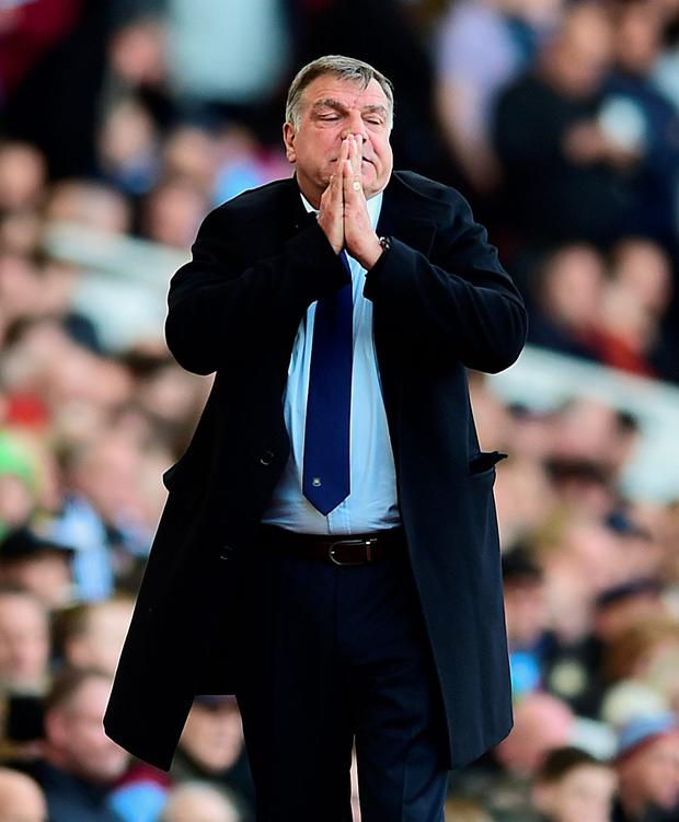 Front runner: Sam Allardyce is favourite to land the England job