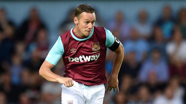 Kevin Nolan had a four-year playing spell at West Ham
