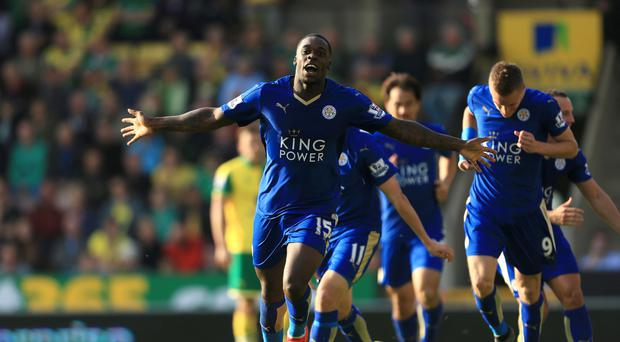 Jeff Schlupp scored once in 26 games as Leicester won the Premier League last season