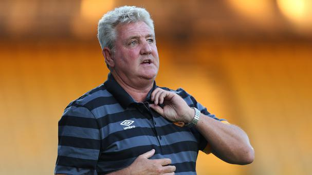 Hull manager Steve Bruce, pictured, has spoken to the Football Association about replacing Roy Hodgson as England boss