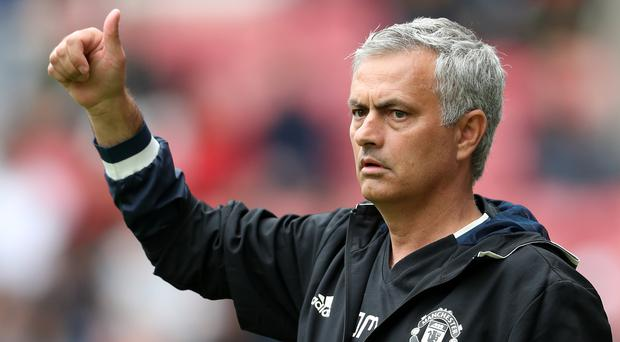 Manchester United manager Jose Mourinho has taken his team to Bejing